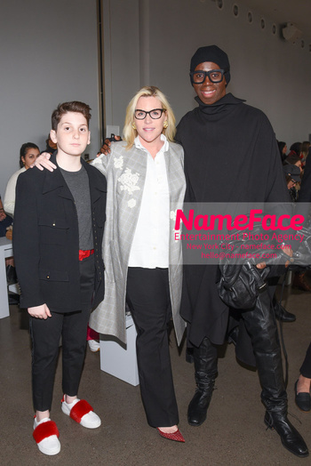 Noon By Noor - Front Row - February 2019 - New York Fashion Week Cyrus Raein, Marjorie Gubelmann and J. Alexander - NameFace Photo Agency New York City - hello@nameface.com - nameface.com - Photo by Daniela Kirsch