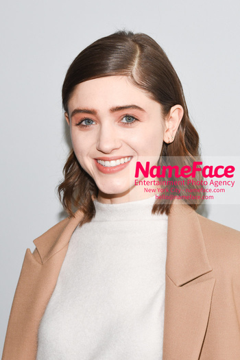 Noon By Noor - Front Row - February 2019 - New York Fashion Week Natalia Dyer - NameFace Photo Agency New York City - hello@nameface.com - nameface.com - Photo by Daniela Kirsch