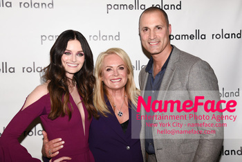 Pamella Roland - Front Row - February 2019 - New York Fashion Week Lydia Hearst, Pamella Roland and Nigel Barker - NameFace Photo Agency New York City - hello@nameface.com - nameface.com - Photo by Daniela Kirsch