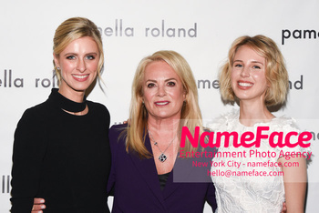 Pamella Roland - Front Row - February 2019 - New York Fashion Week Nicky Hilton, Pamella Roland and Tessa Hilton - NameFace Photo Agency New York City - hello@nameface.com - nameface.com - Photo by Daniela Kirsch