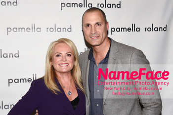 Pamella Roland - Front Row - February 2019 - New York Fashion Week Pamella Roland and Nigel Barker - NameFace Photo Agency New York City - hello@nameface.com - nameface.com - Photo by Daniela Kirsch