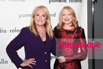 Pamella Roland - Front Row - February 2019 - New York Fashion Week Pamella Roland and Patricia Clarkson - NameFace Photo Agency New York City - hello@nameface.com - nameface.com - Photo by Daniela Kirsch