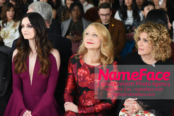 Pamella Roland - Front Row - February 2019 - New York Fashion Week Patricia Clarkson - NameFace Photo Agency New York City - hello@nameface.com - nameface.com - Photo by Daniela Kirsch
