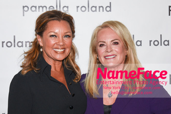 Pamella Roland - Front Row - February 2019 - New York Fashion Week Vanessa Williams and Pamella Roland - NameFace Photo Agency New York City - hello@nameface.com - nameface.com - Photo by Daniela Kirsch