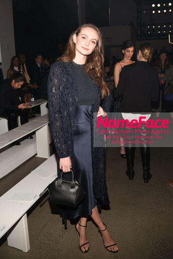 Cushnie - Front Row - February 2019 - New York Fashion Week Andi Matichak - NameFace Photo Agency New York City - hello@nameface.com - nameface.com - Photo by Daniela Kirsch