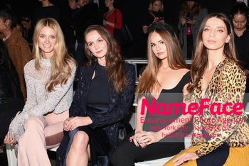 Cushnie - Front Row - February 2019 - New York Fashion Week Kate Bock, Andi Matichak, Debby Ryan and Angela Sarafyan - NameFace Photo Agency New York City - hello@nameface.com - nameface.com - Photo by Daniela Kirsch