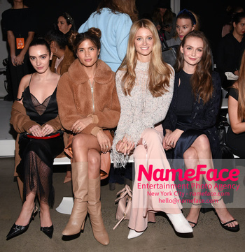 Cushnie - Front Row - February 2019 - New York Fashion Week Olivia Perez, Rocky Barnes, Kate Bock and Andi Matichak - NameFace Photo Agency New York City - hello@nameface.com - nameface.com - Photo by Daniela Kirsch