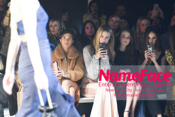 Cushnie - Front Row - February 2019 - New York Fashion Week Rocky Barnes, Kate Bock and Andi Matichak - NameFace Photo Agency New York City - hello@nameface.com - nameface.com - Photo by Daniela Kirsch