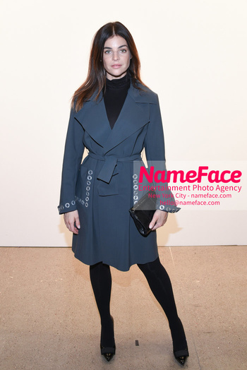 Chiara Boni La Petit Robe - Front Row - February 2019 - New York Fashion Week Julia Restoin-Roitfeld - NameFace Photo Agency New York City - hello@nameface.com - nameface.com - Photo by Daniela Kirsch