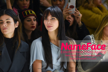 Chiara Boni La Petit Robe - Front Row - February 2019 - New York Fashion Week Liliana Nova Matthäus - NameFace Photo Agency New York City - hello@nameface.com - nameface.com - Photo by Daniela Kirsch