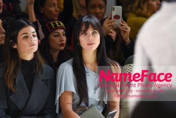 Chiara Boni La Petit Robe - Front Row - February 2019 - New York Fashion Week Liliana Nova Matthäus - NameFace Photo Agency New York City - hello@nameface.com - nameface.com - Photo by Daniela Kirsch