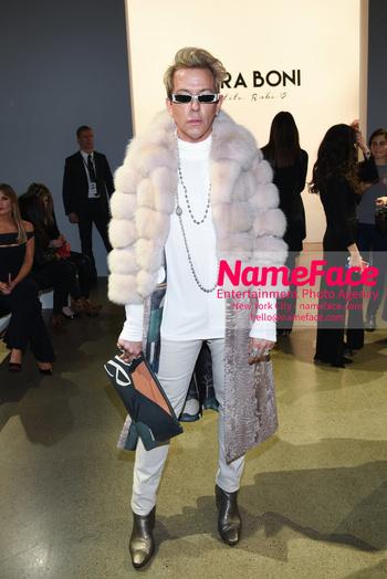 Chiara Boni La Petit Robe - Front Row - February 2019 - New York Fashion Week Derek Warburton - NameFace Photo Agency New York City - hello@nameface.com - nameface.com - Photo by Daniela Kirsch
