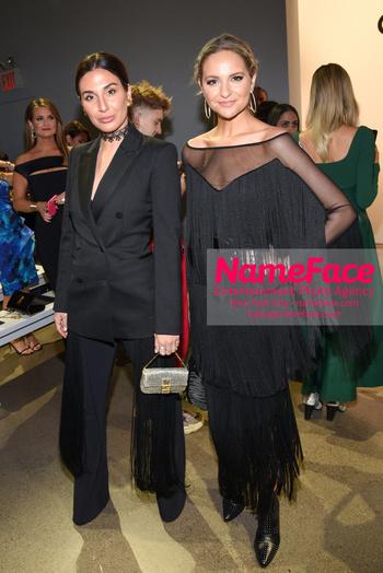 Chiara Boni La Petit Robe - Front Row - February 2019 - New York Fashion Week Guest and Jacqueline Miranne - NameFace Photo Agency New York City - hello@nameface.com - nameface.com - Photo by Daniela Kirsch