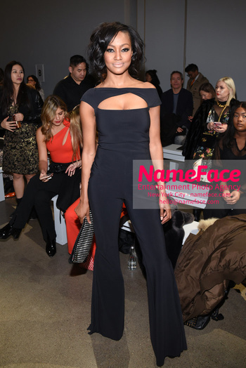 Chiara Boni La Petit Robe - Front Row - February 2019 - New York Fashion Week Nichole Galicia - NameFace Photo Agency New York City - hello@nameface.com - nameface.com - Photo by Daniela Kirsch