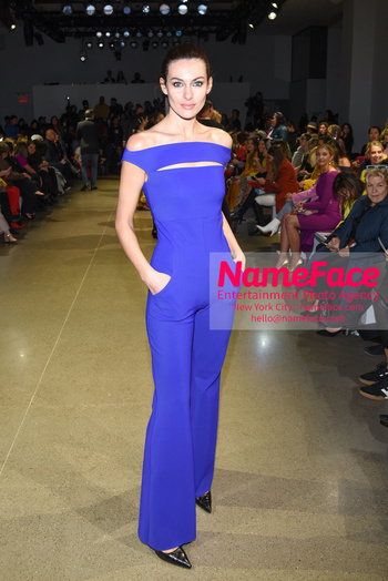 Chiara Boni La Petit Robe - Front Row - February 2019 - New York Fashion Week Paola Turani - NameFace Photo Agency New York City - hello@nameface.com - nameface.com - Photo by Daniela Kirsch