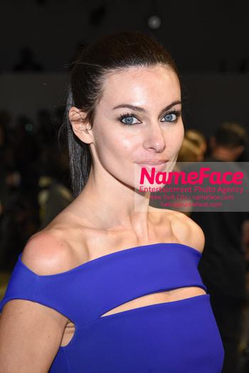 Chiara Boni La Petit Robe - Front Row - February 2019 - New York Fashion Week Paola Turani - NameFace Photo Agency New York City - hello@nameface.com - nameface.com - Photo by Daniela Kirsch
