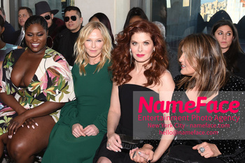 Christian Siriano - Front Row - February 2019 - New York Fashion Week Danielle Brooks, Kelli Giddish and Debra Messing - NameFace Photo Agency New York City - hello@nameface.com - nameface.com - Photo by Daniela Kirsch