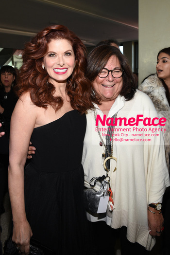 Christian Siriano - Front Row - February 2019 - New York Fashion Week Debra Messing and Fern Mallis - NameFace Photo Agency New York City - hello@nameface.com - nameface.com - Photo by Daniela Kirsch