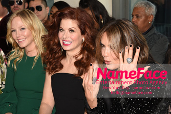 Christian Siriano - Front Row - February 2019 - New York Fashion Week Kelli Giddish, Debra Messing and Mariska Hargitay - NameFace Photo Agency New York City - hello@nameface.com - nameface.com - Photo by Daniela Kirsch