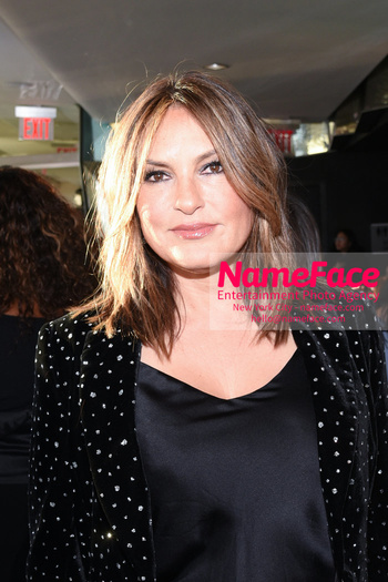 Christian Siriano - Front Row - February 2019 - New York Fashion Week Mariska Hargitay - NameFace Photo Agency New York City - hello@nameface.com - nameface.com - Photo by Daniela Kirsch
