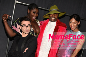 Christian Siriano - Front Row - February 2019 - New York Fashion Week Christian Siriano and Danielle Brooks - NameFace Photo Agency New York City - hello@nameface.com - nameface.com - Photo by Daniela Kirsch