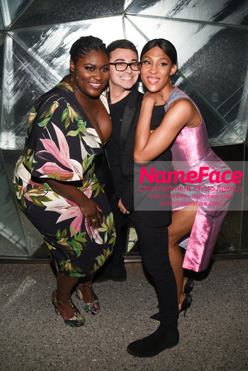 Christian Siriano - Front Row - February 2019 - New York Fashion Week Danielle Brooks and Christian Siriano - NameFace Photo Agency New York City - hello@nameface.com - nameface.com - Photo by Daniela Kirsch