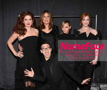 Christian Siriano - Front Row - February 2019 - New York Fashion Week Debra Messing, Christian Siriano, Mariska Hargitay, Christina Ricci and Christina Hendricks - NameFace Photo Agency New York City - hello@nameface.com - nameface.com - Photo by Daniela Kirsch
