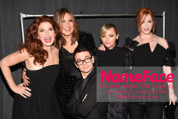 Christian Siriano - Front Row - February 2019 - New York Fashion Week Debra Messing, Mariska Hargitay, Christian Siriano, Christina Ricci and Christina Hendricks - NameFace Photo Agency New York City - hello@nameface.com - nameface.com - Photo by Daniela Kirsch