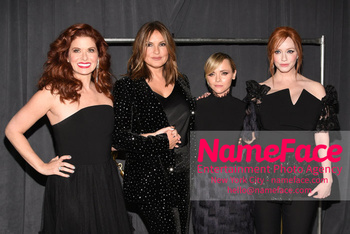 Christian Siriano - Front Row - February 2019 - New York Fashion Week Debra Messing, Mariska Hargitay, Christina Ricci and Christina Hendricks - NameFace Photo Agency New York City - hello@nameface.com - nameface.com - Photo by Daniela Kirsch