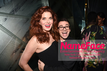 Christian Siriano - Front Row - February 2019 - New York Fashion Week Debra Messing and Christian Siriano - NameFace Photo Agency New York City - hello@nameface.com - nameface.com - Photo by Daniela Kirsch