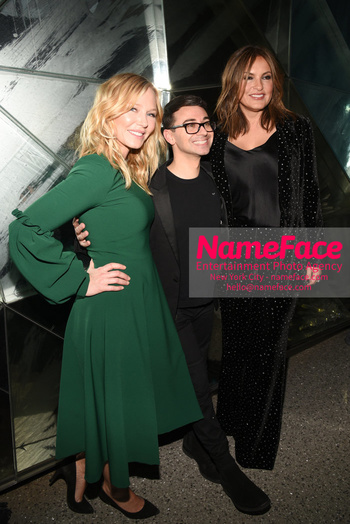 Christian Siriano - Front Row - February 2019 - New York Fashion Week Kelli Giddish, Christian Siriano and Mariska Hargitay - NameFace Photo Agency New York City - hello@nameface.com - nameface.com - Photo by Daniela Kirsch