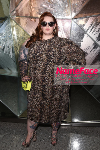 Christian Siriano - Front Row - February 2019 - New York Fashion Week Tess Holliday - NameFace Photo Agency New York City - hello@nameface.com - nameface.com - Photo by Daniela Kirsch