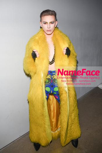 Christian Cowan - Front Row - February 2019 - New York Fashion Week Aquaria Giovanni Palandrani - NameFace Photo Agency New York City - hello@nameface.com - nameface.com - Photo by Daniela Kirsch