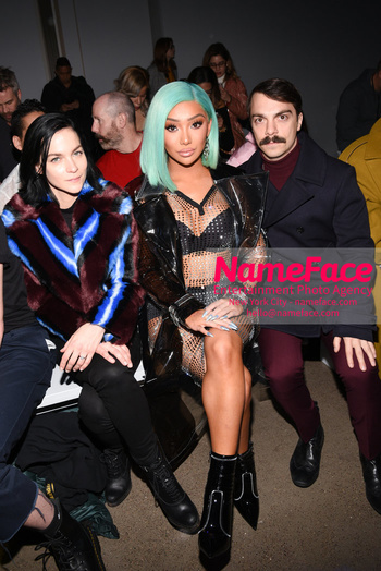 Christian Cowan - Front Row - February 2019 - New York Fashion Week Leigh Lezark, Nikita Dragun and Kirby Jenner - NameFace Photo Agency New York City - hello@nameface.com - nameface.com - Photo by Daniela Kirsch