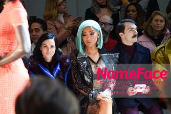 Christian Cowan - Front Row - February 2019 - New York Fashion Week Leigh Lezark and Nikita Dragun - NameFace Photo Agency New York City - hello@nameface.com - nameface.com - Photo by Daniela Kirsch