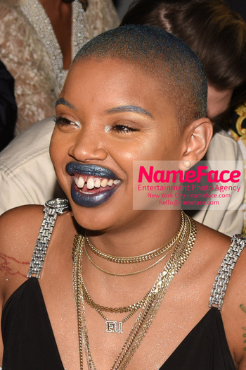 Christian Cowan - Front Row - February 2019 - New York Fashion Week Slick Woods - NameFace Photo Agency New York City - hello@nameface.com - nameface.com - Photo by Daniela Kirsch