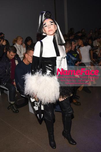 Christian Cowan - Front Row - February 2019 - New York Fashion Week Susanne Bartsch - NameFace Photo Agency New York City - hello@nameface.com - nameface.com - Photo by Daniela Kirsch