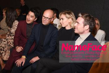 Boss - Front Row - February 2019 - New York Fashion Week Mark Chao, Mark Langer, Vanessa Kirby and Richard Madden - NameFace Photo Agency New York City - hello@nameface.com - nameface.com - Photo by Daniela Kirsch