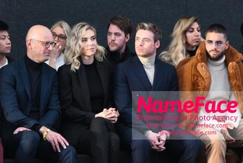 Boss - Front Row - February 2019 - New York Fashion Week Mark Langer, Vanessa Kirby, Richard Madden and Maluma - NameFace Photo Agency New York City - hello@nameface.com - nameface.com - Photo by Daniela Kirsch