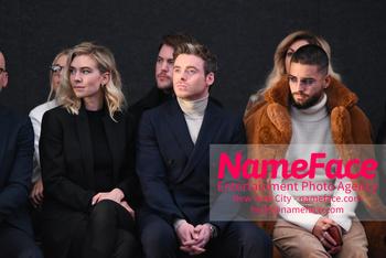 Boss - Front Row - February 2019 - New York Fashion Week Vanessa Kirby, Richard Madden and Maluma - NameFace Photo Agency New York City - hello@nameface.com - nameface.com - Photo by Daniela Kirsch