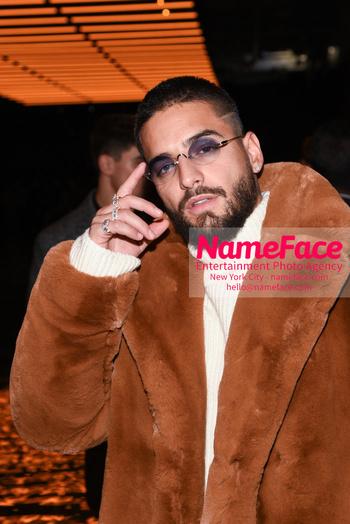 Boss - Front Row - February 2019 - New York Fashion Week Maluma - NameFace Photo Agency New York City - hello@nameface.com - nameface.com - Photo by Daniela Kirsch