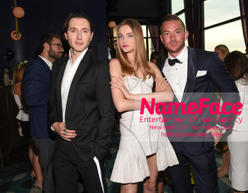 Gabrielles Angel Foundations Young Professional Committee Hosts Midsummer Angel Gala Dimitry Sholokhov, Vlada Roslyakova and Thomas Lampshire - NameFace Photo Agency New York City - hello@nameface.com - nameface.com - Photo by Daniela Kirsch