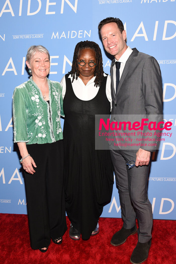 The New York Premiere of MAIDEN Tracy Edwards, Whoopi Goldberg and Alex Holmes - NameFace Photo Agency New York City - hello@nameface.com - nameface.com - Photo by Daniela Kirsch