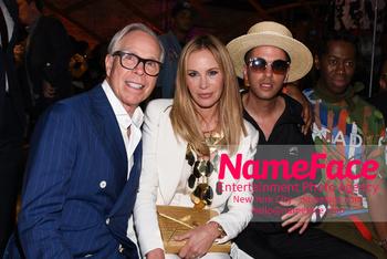 Artistix - New York Fashion Week 2019 Tommy Hilfiger, Dee Hilfiger and DJ Cassidy - NameFace Photo Agency New York City - hello@nameface.com - nameface.com - Photo by Daniela Kirsch