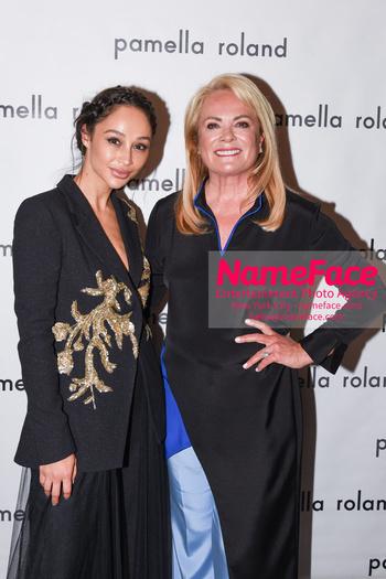 Pamella Roland - Front Row - September 2019 - New York Fashion Week Cara Santana and Pamella Roland - NameFace Photo Agency New York City - hello@nameface.com - nameface.com - Photo by Daniela Kirsch