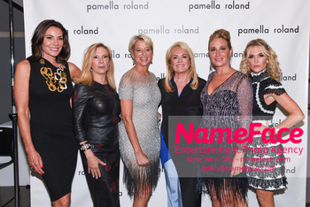 Pamella Roland - Front Row - September 2019 - New York Fashion Week Countess LuAnn de Lesseps, Ramona Singer, Dorinda Medley, Pamella Roland, Sonja Morgan and Tinsley Mortimer - NameFace Photo Agency New York City - hello@nameface.com - nameface.com - Photo by Daniela Kirsch