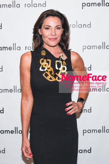 Pamella Roland - Front Row - September 2019 - New York Fashion Week Countess LuAnn de Lesseps - NameFace Photo Agency New York City - hello@nameface.com - nameface.com - Photo by Daniela Kirsch
