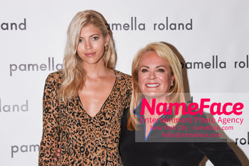 Pamella Roland - Front Row - September 2019 - New York Fashion Week Devon Windsor and Pamella Roland - NameFace Photo Agency New York City - hello@nameface.com - nameface.com - Photo by Daniela Kirsch