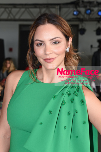 Pamella Roland - Front Row - September 2019 - New York Fashion Week Katharine McPhee - NameFace Photo Agency New York City - hello@nameface.com - nameface.com - Photo by Daniela Kirsch