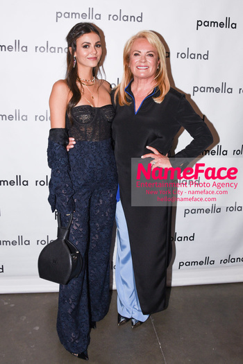 Pamella Roland - Front Row - September 2019 - New York Fashion Week Victoria Justice and Pamella Roland - NameFace Photo Agency New York City - hello@nameface.com - nameface.com - Photo by Daniela Kirsch